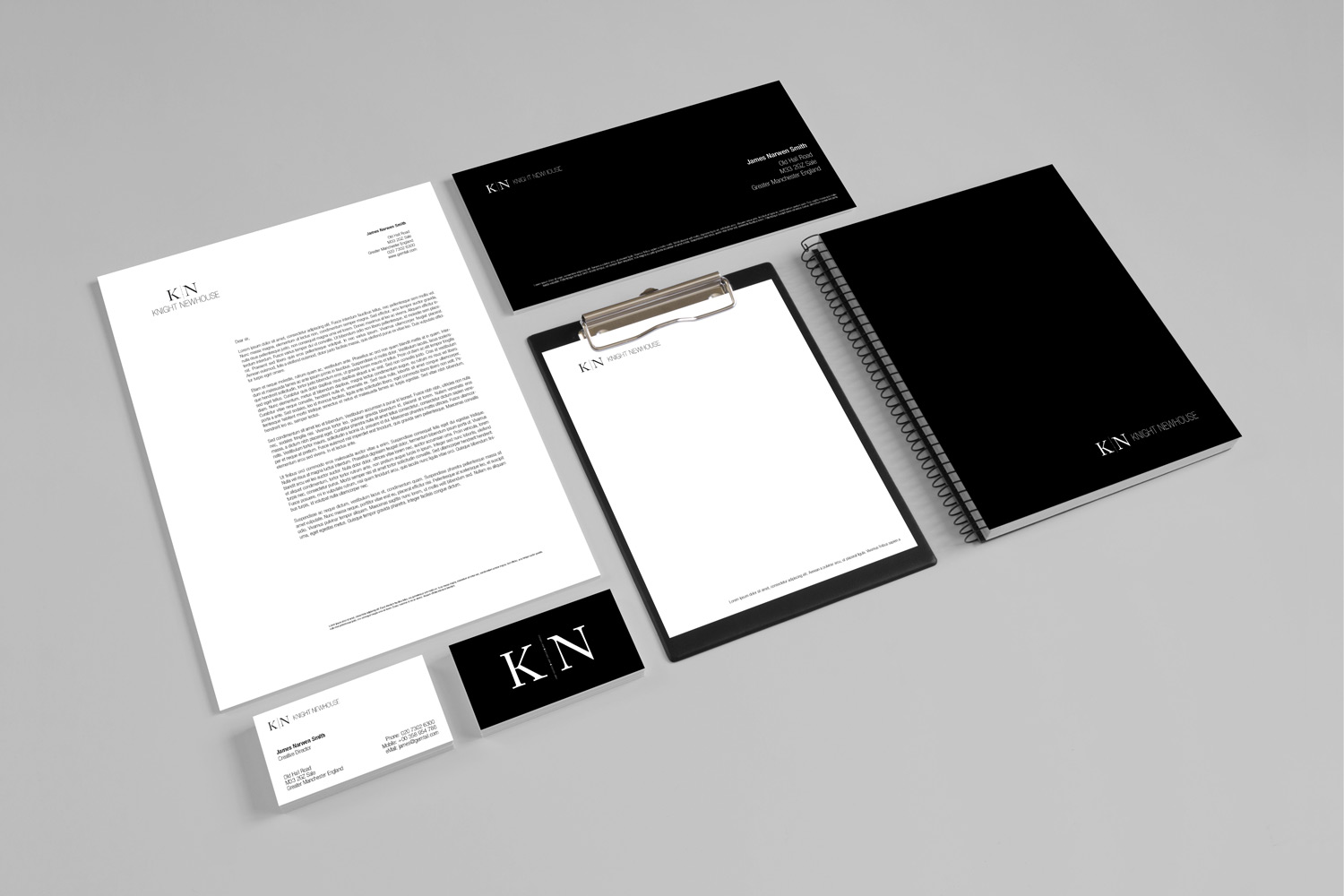 Knight Newhouse branding