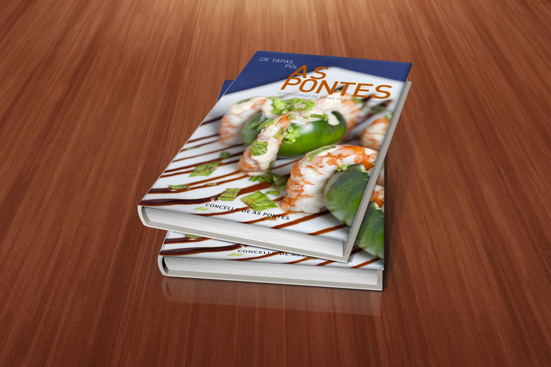 Libro de recetas De Tapas Polas Pontes