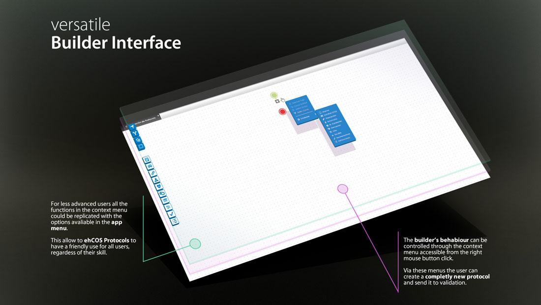 ehCOS Protocols pantalla principal