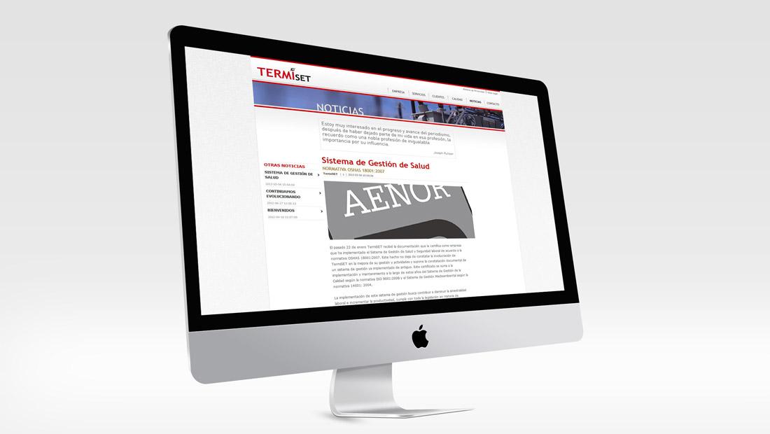 Termiset - Noticias
